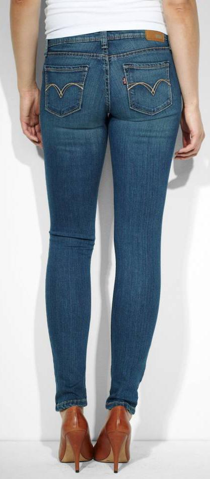 Levis Low Rise Demi Curve Skinny Jeans