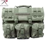 Военный портфель M.O.L.L.E. для переноски ноутбука и документов. .  На лицевой стороне 3 грузовых п. В сравнение.
