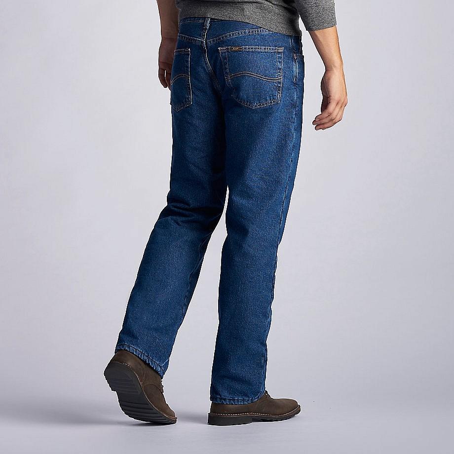 Зимние джинсы с флисом Lee