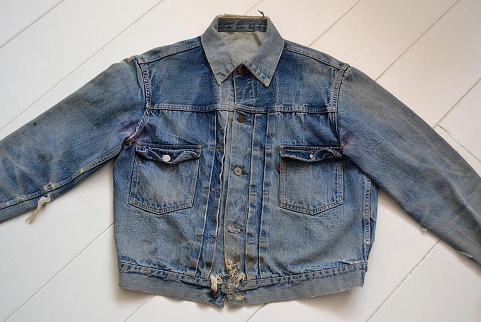 Убитая винтажная куртка типа II.