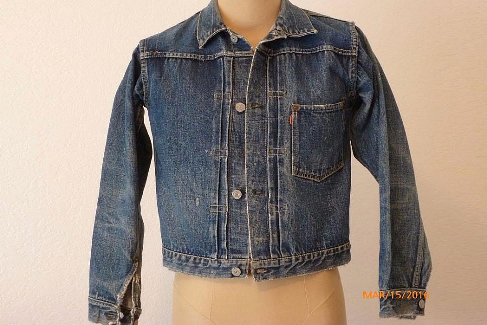 Тип I джинсовых курток (1905-1952)