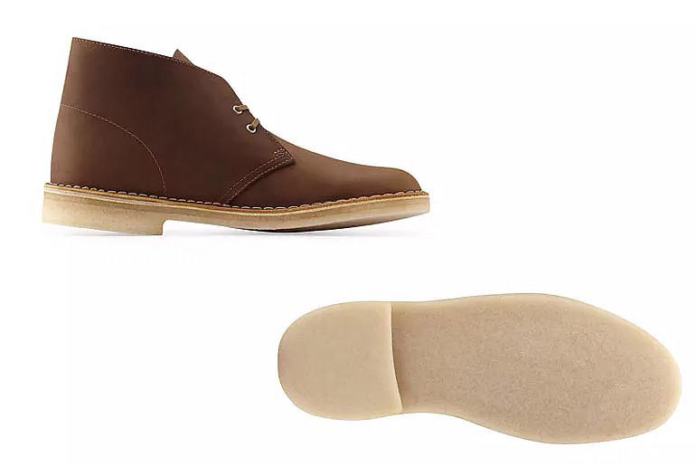 Ботинки Clark's Desert Boots. Изображение: Clark's
