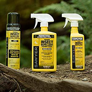 Американский репеллент для одежды Sawyer Permethrin Clothing Insect Repellent