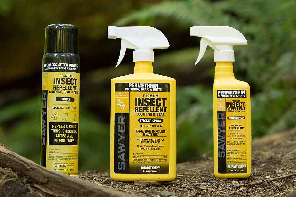 Защита одежды от насекомых от компании Sawyer