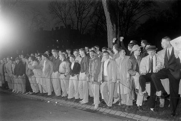 Студенты Принстонского университета, 1957. Изображение с Ivy Style.