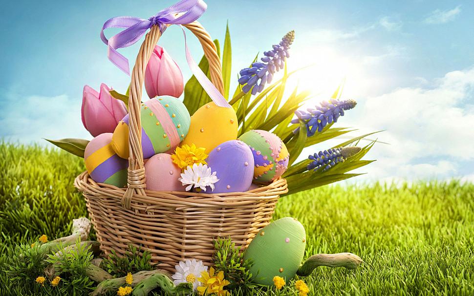 Веселых Пасхальных Праздников