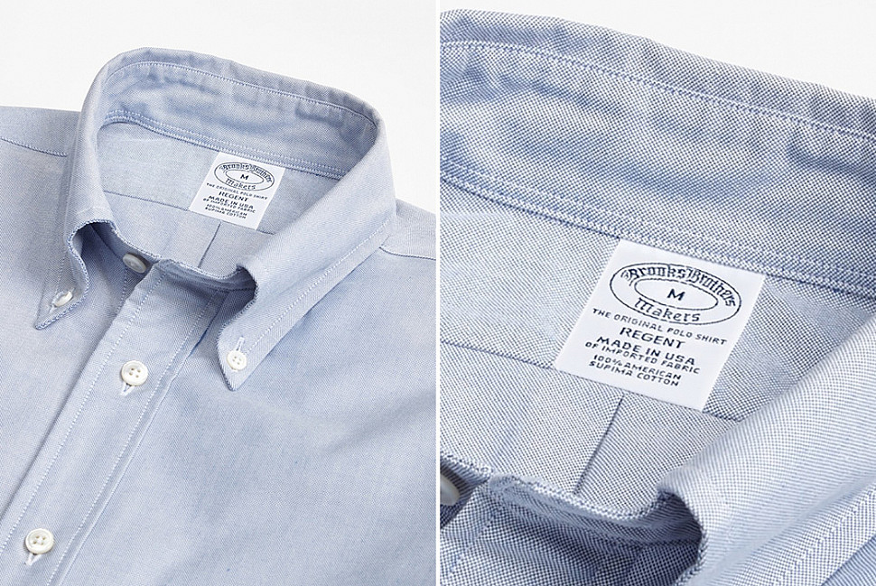 «Оригинальная рубашка поло» от Brooks Brothers