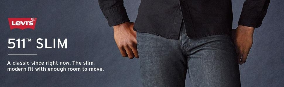 3b441a7b43b Джинсы мужские Levi s 511 Slim Fit Jeans