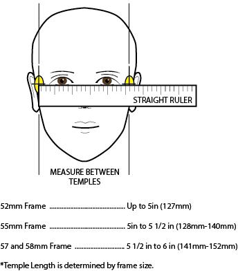 Как измерить лицо при выборе очков?