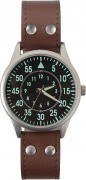 Часы Rothco Military Style Watch - Leather Strap - 4338