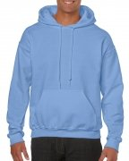 Gildan Mens Hooded Sweatshirt Carolina Blue