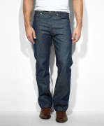 Sale Levi's 501 Original Srink To Fit Jeans Rigid 005010000