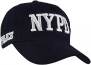 Officially Licensed NYPD Adjustable Cap Navy Blue 8270