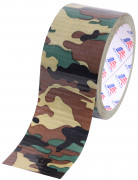 Military Duct Tape Woodland Camo 8220