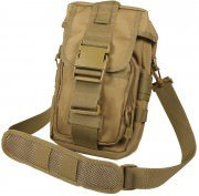 Сумкак тактическая Rothco Flexipack MOLLE Tactical Shoulder Bag - Coyote - 8319