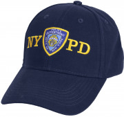 Officially Licensed NYPD Adjustable Cap With Emblem Navy Blue 8272