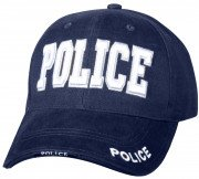 Rothco Deluxe Police Low Profile Cap Navy Blue 9489