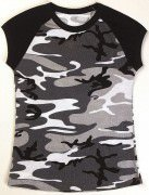 Rothco Short Sleeve Camo Raglan T-Shirt City Camo - 8036