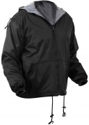 Rothco Reversible Lined Jacket With Hood Black - 8263