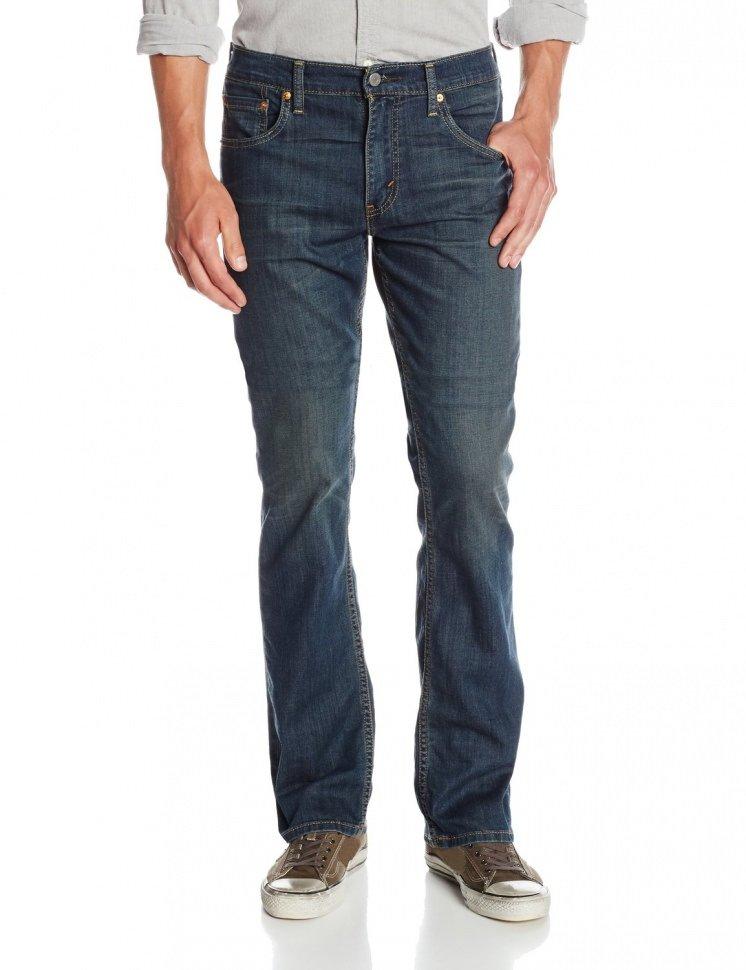 fceba2ad149faf Джинсы мужские Levi's (Левис) Men's 527 Slim Boot Cut Jean - Covered Up -  055270452
