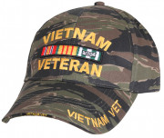 Rothco Deluxe Low Profile Vietnam Tiger Stripe Cap 9494