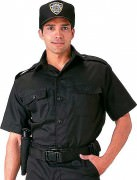 Rothco Short Sleeve Tactical Shirt Black 30205