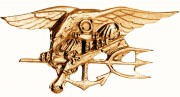 Rothco U.S. Navy Breast Badge - Navy Seals # 1655