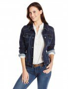 Wrangler Authentics Women's Denim Jacket Drenched