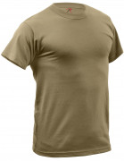 Rothco Quick Dry Moisture Wicking T-shirt AR 670-1 Coyote Brown 67947