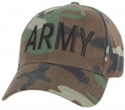 Rothco Army Supreme Low Profile Cap Woodland Camo 8288