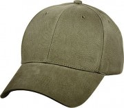Rothco Supreme Solid Color Low Profile Cap Olive Drab 8289