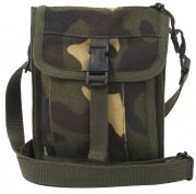 Сумка для документов Rothco Canvas Travel Portfolio Bag - Woodland Camo - 2326