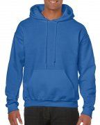 Gildan Mens Hooded Sweatshirt Royal