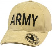 Rothco Vintage Deluxe Army Low Profile Insignia Cap Khaki 9788