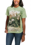 The Mountain T-Shirt Black Bear Family 105980