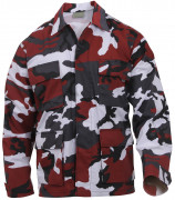Rothco BDU Shirt Red Camo 7913