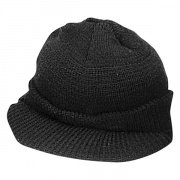 Wintuck® Wool Jeep Cap Black - 7708
