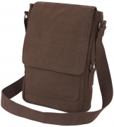 Rothco Vintage Canvas Military Tech Bag Brown 5795