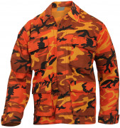 Rothco BDU Shirt Savage Orange Camo 8890