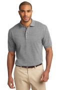 Port Authority Men's Pique Knit Polo Oxford