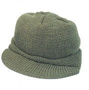 Wintuck® Wool Jeep Cap Olive Drab - 7709