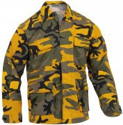 Rothco BDU Shirt Stinger Yellow Camo 8870