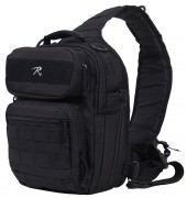 Сумка тактическая Rothco Compact Tactisling Shoulder Bag - Black - 25510