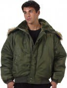Rothco N-2B Flight Jacket Sage 7190