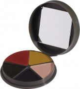 Грим для лица Military Face Paint Compact 5 Color - Woodland Camo