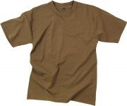 Rothco T-Shirt 100% Cotton Coyote Brown 7848