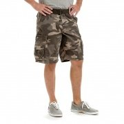Lee Men's Dungarees Belted Wyoming Cargo Short Ash Camo 2183328