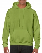 Gildan Mens Hooded Sweatshirt Kiwi
