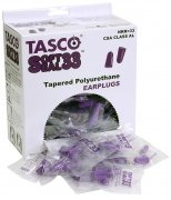 Tasco Soft Seal Non-Corded Foam Earplugs (200 Per Box) - 4715