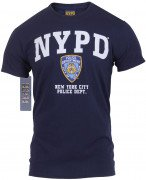 Officially Licensed NYPD T-shirt Navy Blue 6638
